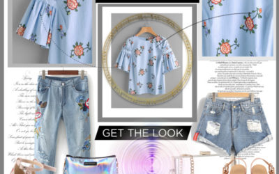 Denim and Floral